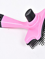 Cat Dog Grooming Health Care Cleaning Comb Baths Waterproof Portable Low Noise Double-Sided Foldable Massage Blushing Pink Blue Orange
