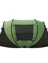 3-4 Personen Zelt Doppel Automatisches Zelt Einzimmer Camping ZeltCamping Reisen