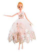 30cm Car toy 12 Joint Movable Doll with Wedding Dress Fantacy Doll Birthday Gift Toys For Girls Wedding Gift