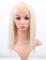 9A Grade Brazilian Virgin Hair Lace Wigs Silky Straight Front Lace Human Hair Wigs Virgin Hair Wig with Baby Hair