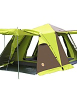 3-4 persons Tent Double Automatic Tent One Room with Vestibule Camping Tent