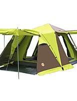 3-4 Pessoas Tenda Duplo Tenda Automática Um Quarto com Vestíbulo Barraca de acampamento