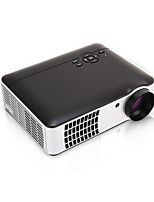LCD WXGA (1280x800) Projector,LED 2500 LED indicator Built-in Bluetooth 3D Interface Sounds WiFi Remote Controlled TV Swivel screen 1080P