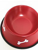 Кошка Собака Миски и бутылки с водой Кормушки Животные Чаши и откорма Компактность Черный Красный Синий