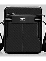 Men Shoulder Bag Oxford Cloth All Seasons Casual Messenger Zipper Black Blue