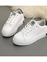 Women's Sneakers Comfort PU Spring Casual White Flat