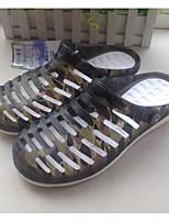 Men's Sandals Comfort PVC Spring Casual Comfort Navy Army Green Flat