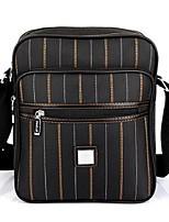 Men Shoulder Bag Oxford Cloth All Seasons Casual Messenger Zipper Brown Black