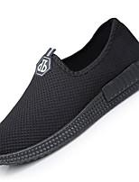 Da uomo Sneakers Comoda Tulle Primavera Casual Nero Blu Piatto