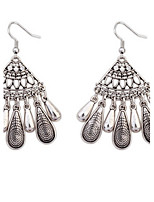Drop Earrings Women's Euramerican Fashion Alloy Fan Drop Earrings Daily Party Movie Jewelry