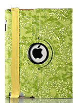 For Apple iPad 4/3/2 Case Cover with Stand Flip 360 Rotation Pattern Full Body Case Fruit Hard PU Leather