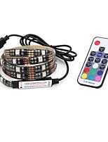 7W Contrôleurs RGB 500 lm DC5 V 2 m 60 diodes électroluminescentes Rouge Vert Bleu