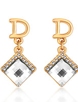 Women's Earrings Set Jewelry Euramerican Fashion Personalized Crystal Alloy Jewelry Jewelry For Wedding Party Anniversary 1 Pair
