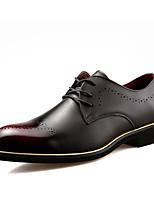 Для мужчин Туфли на шнуровке Формальная обувь Полиуретан Дерматин Лето Осень Для прогулок Для офиса Повседневный Для вечеринки / ужинаНа