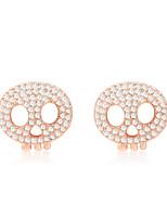 Femme Boucles d'oreilles Bijoux Mode Personnalisé euroaméricains Strass Alliage Bijoux Bijoux Pour Mariage Soirée 1 Paire
