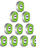 608R 21mm x 7mm Metal Shielded Radial Ball Bearings Deep Groove Ball Bearings for Fidget Spinner Toy---10 pcs