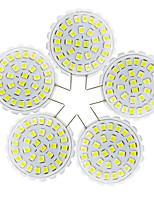 YWXLight® 5Pcs G8 2835 SMD 31LED Bi-Pin Lights 2W 100-200Lm Warm White Cool White Chandelier Decorative Light 110-140V