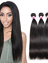 8A Peruvian Texture Remy Virgin Straight Human Hair 3 Bundles Unprocessed 100% Human Hair 300g/Set