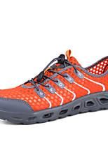 Для мужчин Мокасины и Свитер Удобная обувь Ткань Лето Осень Для прогулок Для занятий спортом Для плавания На низком каблукеТемно-серый