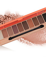 Wodwod 10 Eyeshadow Palette Pumpkin Shimmer Eyeshadow With Brush