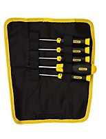 Stanley 5 Piece Rubber Handle Flower Shaped Screwdriver Set /1