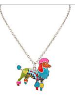Жен. Муж. Ожерелья-бархатки Ожерелья-цепочки Бижутерия В форме животных СплавБазовый дизайн Уникальный дизайн Животный дизайн Дружба США