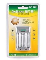 Delipow dlp-008 chargeur rapide batterie adapté pour aa / aaa nickel-métal hydrure nickel-chrome batterie rechargeable