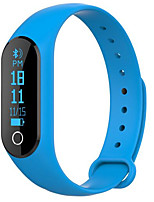 M6S Smart Heart Rate Bracelet Sleep Monitor Waterproof Bluetooth Pedometer Ios/ Android Mileage Tracking