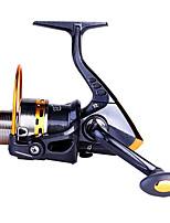Carrete de la pesca Carretes para pesca spinning 5.5:1 8.0 Rodamientos de bolas IntercambiablePesca de Mar Pesca de baitcasting Pesca al