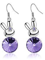 Women's Earrings Set Jewelry Fashion Personalized Euramerican Rhinestones Alloy Jewelry Jewelry For Wedding Party Anniversary