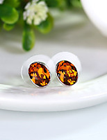 Women's Stud Earrings Jewelry Euramerican Fashion Personalized Crystal Alloy Jewelry Jewelry For Wedding Party Anniversary 1 Pair