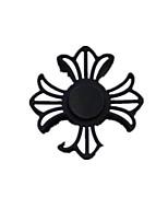 Спиннеры от стресса Ручной обтекатель Волчок Игрушки ИгрушкиПрямоугольный Tri-Spinner Два спиннера Кольцо Spinner Прядильщик Цветы
