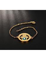Femme Chaînes & Bracelets Vintage Style Punk Hip-Hop Acier au titane Forme de Cercle Bijoux Pour Mariage Halloween Fête/Soirée Quotidien