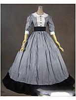 One-Piece/Dress Gothic Lolita Lolita Cosplay Lolita Dress Vintage Cap Half Sleeve Floor-length Dress For Other