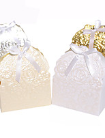 25pcs Rose Flower Wedding Favors Box Candy Box Baby Shower Favors Box Wedding Decoration