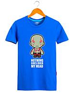 Fantasias de Cosplay Moletons Estampa Anime Super-Heróis Monstros Fantasias de Filme e Tema de TV Cosplay de Filmes CamisetaDia Das
