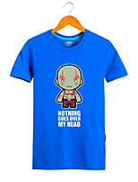 Costumes de Cosplay Sweatshirts Mangas Superhéros Monstre Déguisements Thème Film/TV Cosplay de Film Tee-shirt Halloween Carnaval Coton
