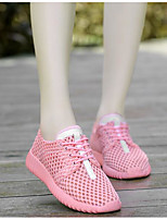 Women's Flats Comfort Tulle Spring Casual Comfort Blushing Pink Black White Flat
