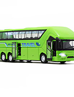 Pull Back Vehicles Bus Metal Alloy