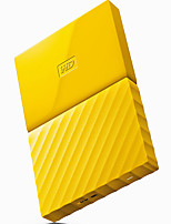 WD WDBYNN0020BYL-CESN  2TB 2.5 Inch Yellow External Hard Drive USB3.0