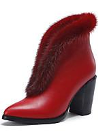 Для женщин Ботинки Удобная обувь Полиуретан Лето Повседневные Удобная обувь Черный Красный На плоской подошве