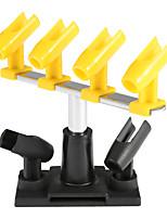 Kit kkmoom professionale supporto clamp-on porta airbrush 6 attacco pistola spruzzo tavolo da tavolo banco stazione banco kit per airbrush