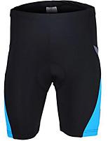 מכנסי רכיבה לגברים אופניים נושם ייבוש מהיר נוח פוליאסטר אחיד רכיבה על אופניים/אופנייים קיץ אדום ירוק כחול