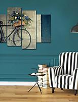 Art Print Still Life Modern Four Panels Horizontal Print Wall Decor For Home Decoration