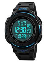 Relógio Inteligente Impermeável Suspensão Longa Esportivo MultifunçõesCronómetro Relogio Despertador Cronógrafo Calendário Dois Fusos