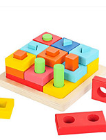 DIY KIT For Gift  Building Blocks Square Wood Toys