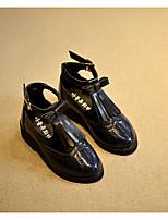 Девочки На плокой подошве Обувь для малышей Полиуретан Весна Осень Для прогулок Повседневный Для прогулок На липучках На низком каблуке