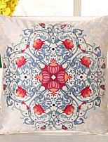 1 pçs Seda Cobertura de Almofada Fronha,Floral Inovador Casual Retro Tradicional/Clássico Europei
