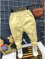 Unisex Casual/Daily Solid Pants Spring