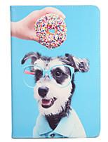 Para apple ipad (2017) pro 9.7 '' capa capa com suporte flip pattern corpo inteiro cão cão duro couro couro 2 ar ipad2 3 4